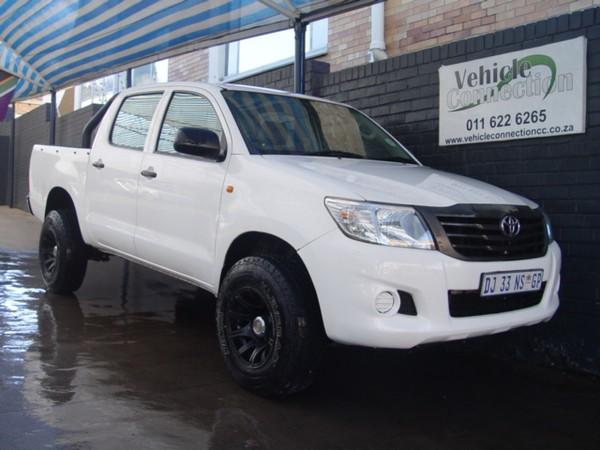 2014 Toyota Hilux 2.5d-4d Srx 4x4 Pu Dc  Gauteng Johannesburg_0