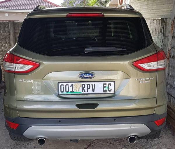 2013 Ford Kuga 2.0 TDCI Titanium AWD Powershift Eastern Cape King Williams Town_0