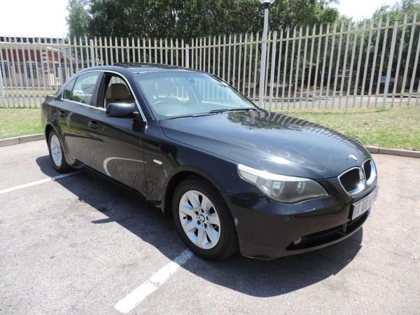 2005 BMW 5 Series 525i e60  Gauteng Benoni_0
