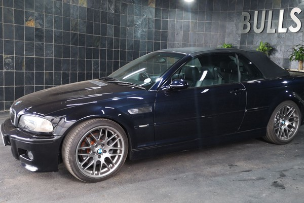 2005 BMW M3 Convertible e46  Gauteng Silverton_0