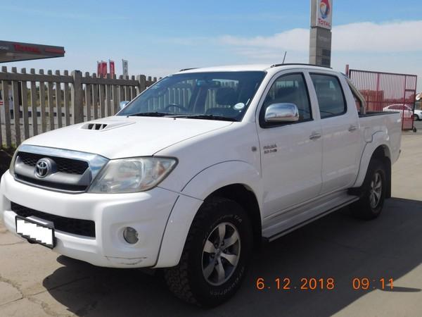 2009 Toyota Hilux 3.0d-4d Raider 4x4 Pu Dc  Gauteng Brakpan_0