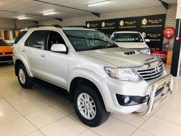 2014 Toyota Fortuner 3.0d-4d 4x4  Western Cape Paarl_0