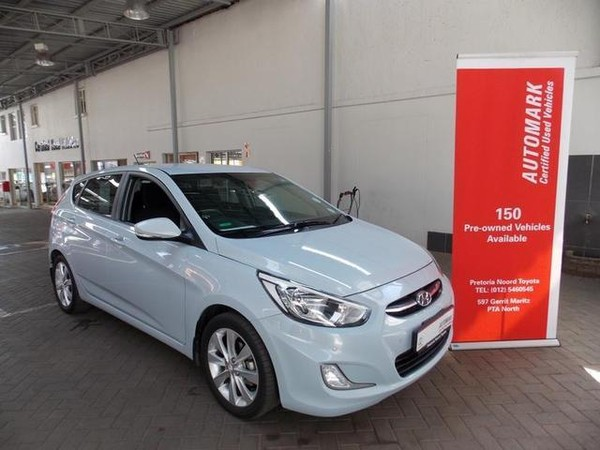 2016 Hyundai Accent 1.6 Fluid 5-Door Gauteng Pretoria North_0