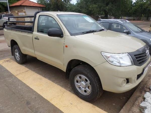 2015 Toyota Hilux 2.5 D-4d Srx Rb Pu Sc  Limpopo Messina_0