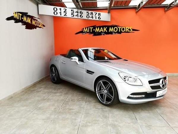 2012 Mercedes-Benz SLK-Class Slk 200 At  Gauteng Pretoria_0