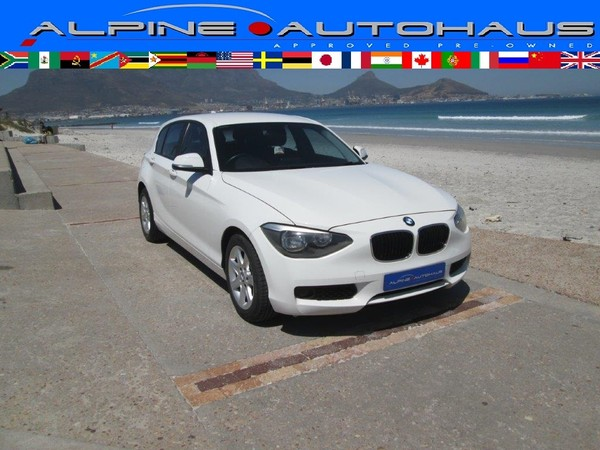 2013 BMW 1 Series 118i 5dr f20  Western Cape_0