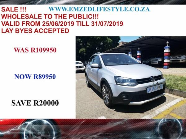 2012 Volkswagen Polo 1.6 Tdi Cross  Gauteng Benoni_0