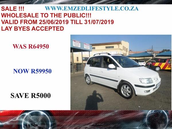 2005 Hyundai Matrix 1.6 Gls  Gauteng Benoni_0