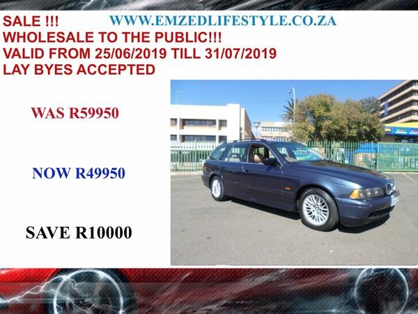 2002 BMW 5 Series 525i Touring e39  Gauteng Benoni_0