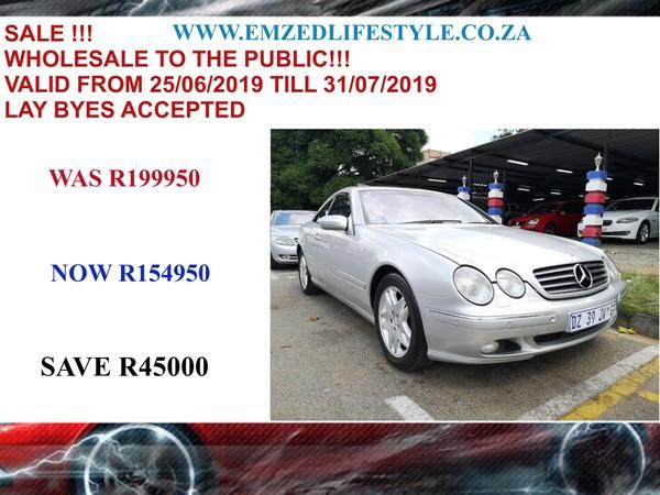 2000 Mercedes-Benz CL-CLass Cl 500  Gauteng Benoni_0