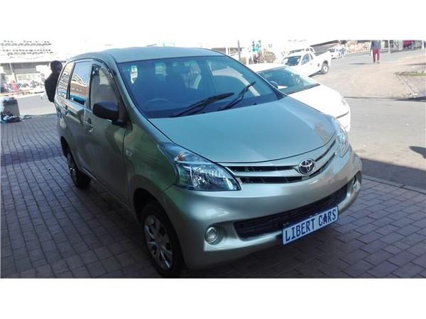 2013 Toyota Avanza 1.5 Sx  Gauteng Germiston_0
