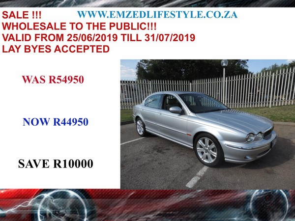 2003 Jaguar X-Type 3.0 Se At  Gauteng Benoni_0