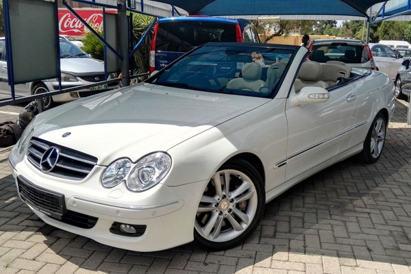 2009 Mercedes-Benz CLK-Class Clk 500 Cabriolet  North West Province Potchefstroom_0