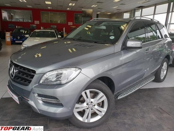 2014 Mercedes-Benz M-Class Ml 350 Bluetec  Gauteng Bryanston_0