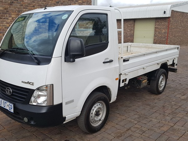 2013 TATA Super Ace 1.4 DIESEL PICK UP DROPSIDE WITH RUBBERIZED BIN  Gauteng Kempton Park_0
