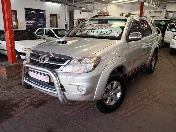 2007 Toyota Fortuner Call Sam 081 707 3443 Western Cape Goodwood_0