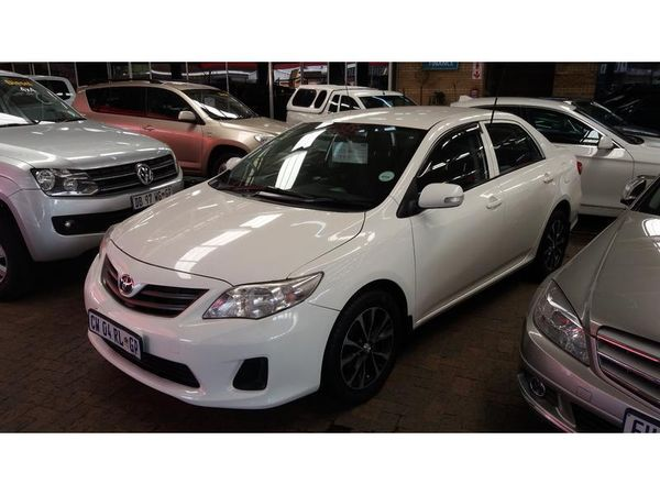 2011 Toyota Corolla 1.6 Professional  Gauteng Vereeniging_0