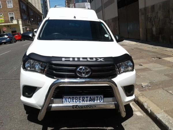 2017 Toyota Hilux 2.0 VVT Single Cab Bakkie Gauteng Johannesburg_0