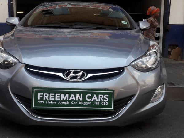 2013 Hyundai Elantra 1.6  Gauteng Johannesburg_0
