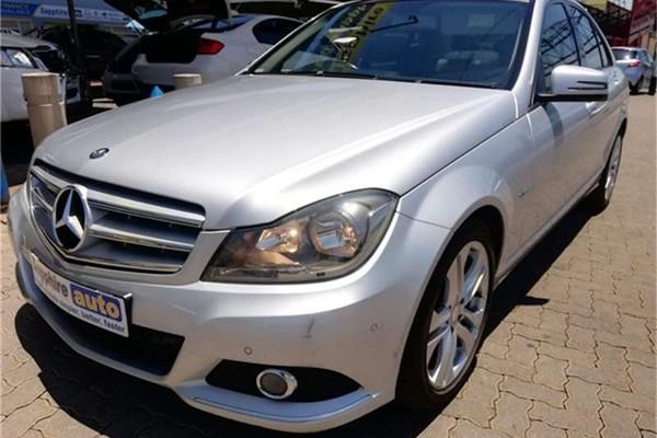 2012 Mercedes-Benz C-Class C180 Be Avantgarde At  Gauteng Pretoria_0