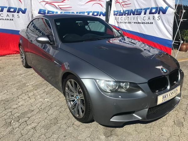 2010 BMW M3 Convertible M Dynamic M-dct  Gauteng Bryanston_0