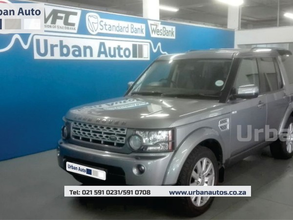 2012 Land Rover Discovery 4 3.0 Tdv6 Hse  Western Cape Parow_0
