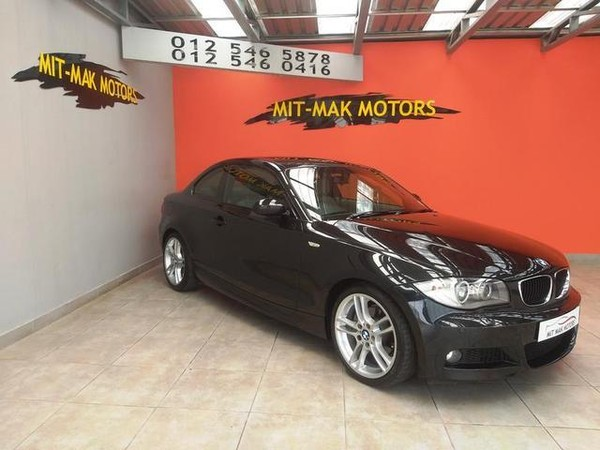 2009 BMW 1 Series 120d Coupe At  Gauteng Pretoria_0