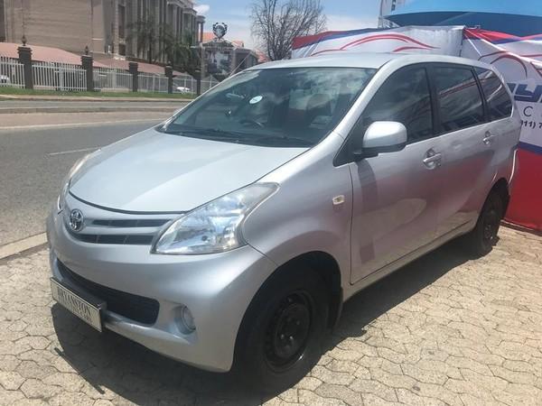 2015 Toyota Avanza 1.5 Sx At  Gauteng Bryanston_0