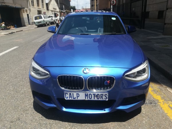 2014 BMW 1 Series 116i M Sport Line 5dr At f20  Gauteng Marshalltown_0