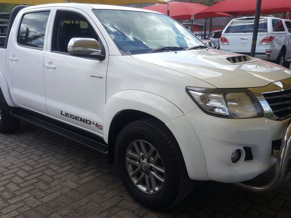 2016 Toyota Hilux 3.0 D-4D LEGEND 45 4X4 Double Cab Bakkie Mpumalanga Nelspruit_0