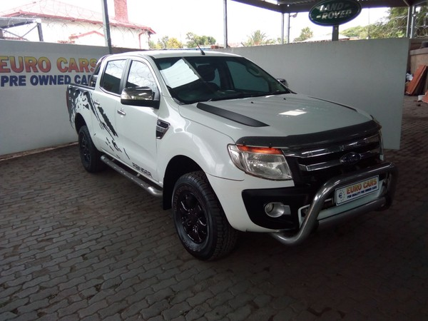 2012 Ford Ranger 3.2tdci Xlt Pu Dc  Gauteng Pretoria West_0