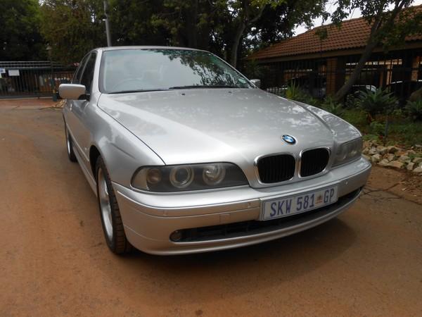 2003 BMW 5 Series 530i Exclusive At e39  Gauteng Pretoria_0