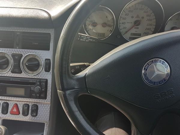 2003 Mercedes-Benz SLK-Class 200K Roadster Gauteng Alberton_0