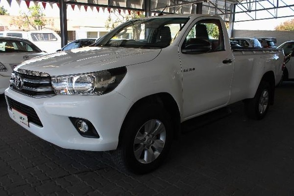 2018 Toyota Hilux 2.4 GD-6 RB SRX Single Cab Bakkie Eastern Cape King Williams Town_0