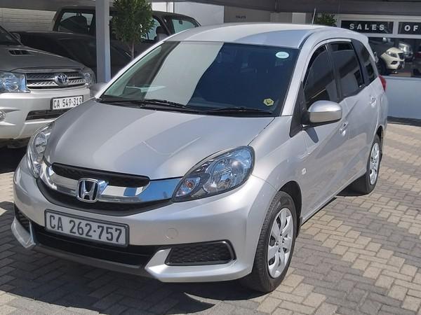 2015 Honda Mobilio 1.5 Comfort Western Cape Mowbray_0