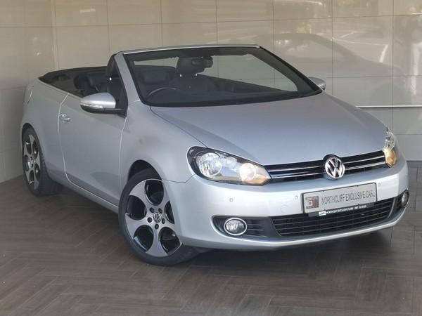 2012 Volkswagen Golf 1.4 CONVERTIBLE AUTO Gauteng Randburg_0