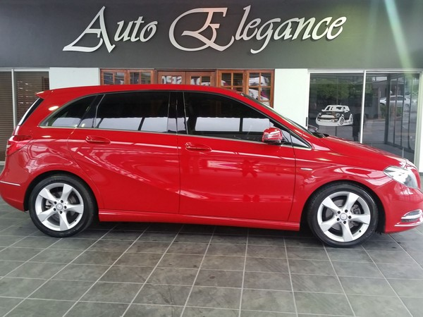 2012 Mercedes-Benz B-Class B 200 Cdi Be At  Gauteng Pretoria_0