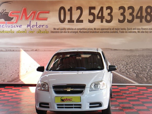 2013 Chevrolet Aveo 1.6 L  Gauteng Pretoria_0
