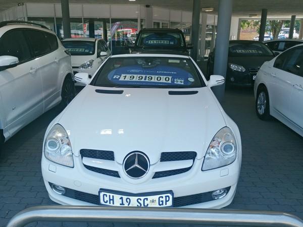 2009 Mercedes-Benz SLK-Class Slk 350 At  Gauteng Pretoria_0