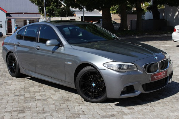2012 BMW 5 Series 520i At M-sport f10  Western Cape Cape Town_0