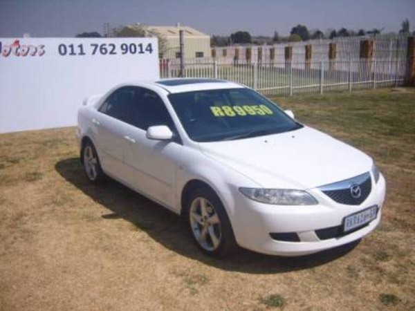 2004 Mazda 6 2.3 Sporty Lux At  Gauteng Roodepoort_0
