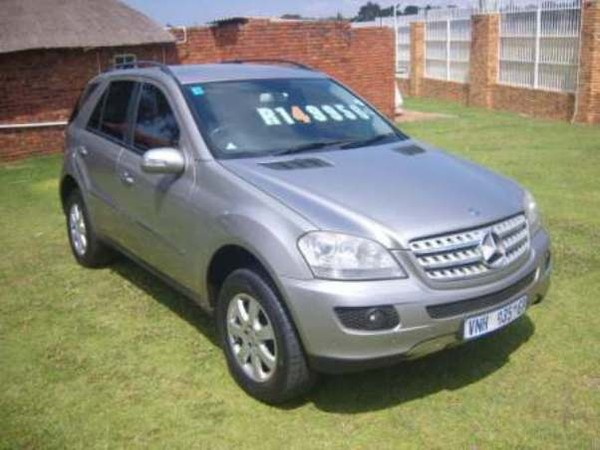 2007 Mercedes-Benz M-Class Ml 350 At  Gauteng Roodepoort_0