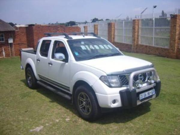 2008 Nissan Navara 2.5 Dci  Xe Pu Dc  Gauteng Roodepoort_0