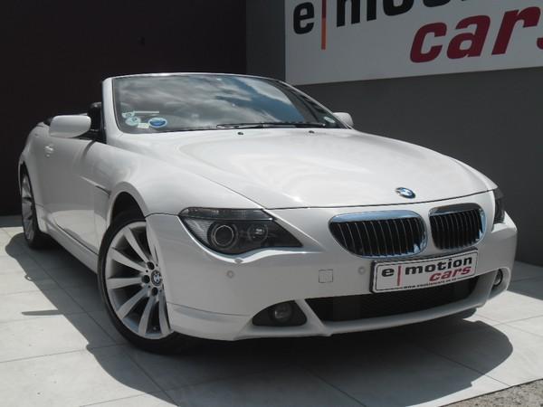 2008 BMW 6 Series 650i Convertible Sport At e64  Gauteng Randburg_0
