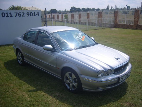 2002 Jaguar X-Type 3.0 Se At  Gauteng Roodepoort_0