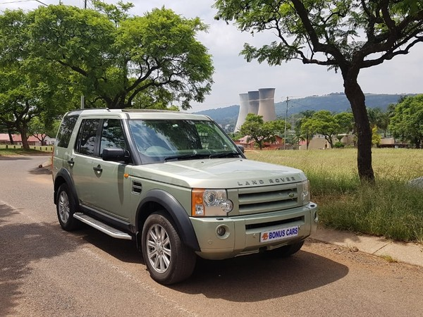 2007 Land Rover Discovery 3 Td V6 Hse At  Gauteng Pretoria West_0