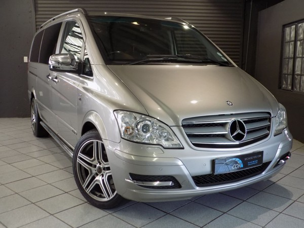 2011 Mercedes-Benz Viano 3.0 Cdi V6 Ambiente  Gauteng Bryanston_0