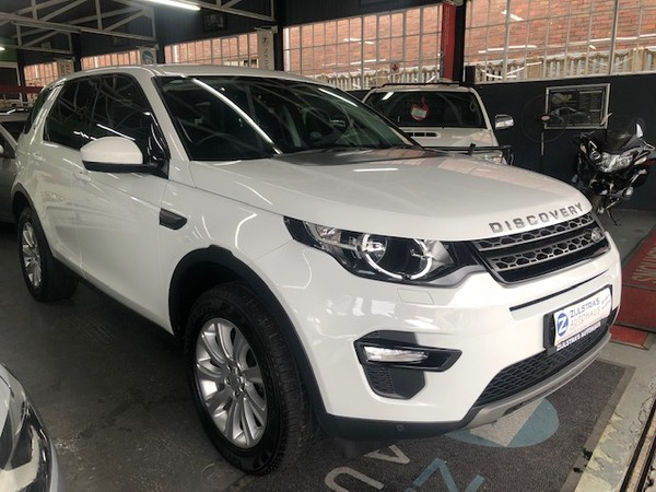 2017 Land Rover Discovery SPORT 2.0i4 D HSE Free State Bloemfontein_0