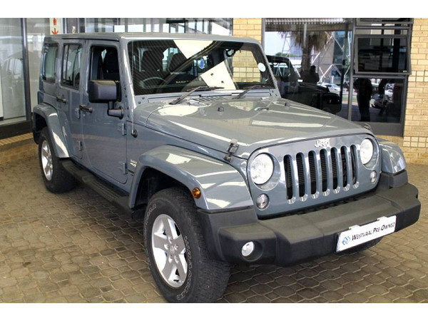 2015 Jeep Wrangler Unlimited 3.6l V6 At  Gauteng Menlyn_0