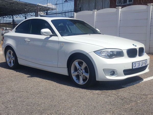 2013 BMW 1 Series 120d Coupe Exclusive At  Gauteng Pretoria_0